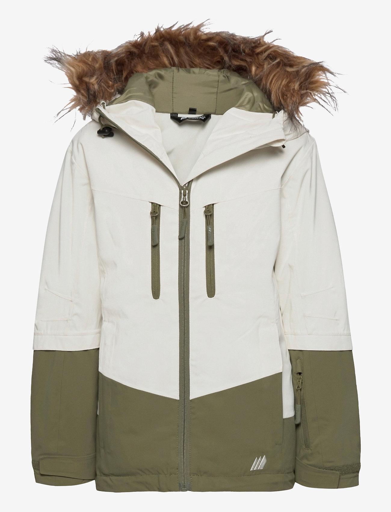 Skogstad - Bakketuva 2-layer technical jacket - ski jassen - vanilla ice - 0