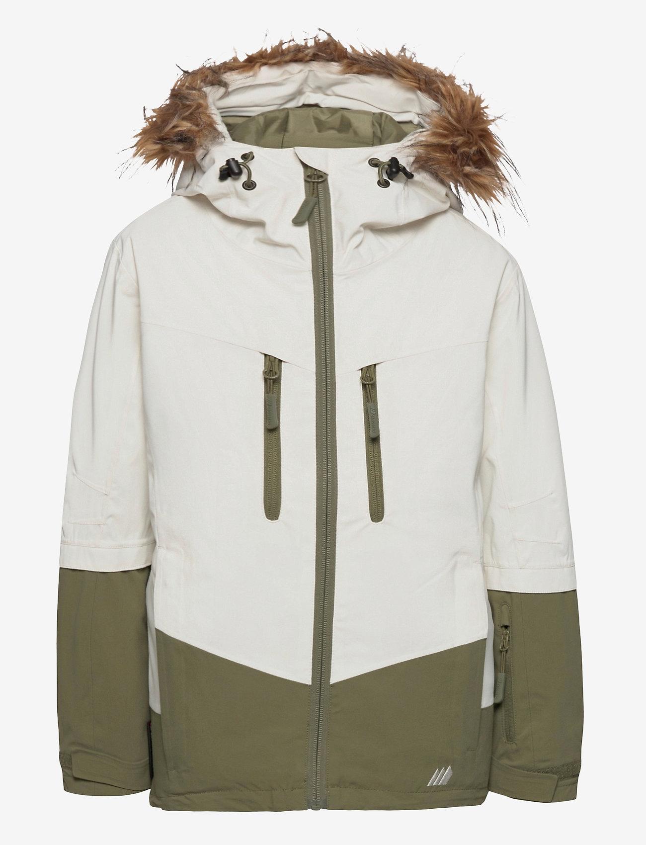 Skogstad - Bakketuva 2-layer technical jacket - ski jassen - vanilla ice - 1