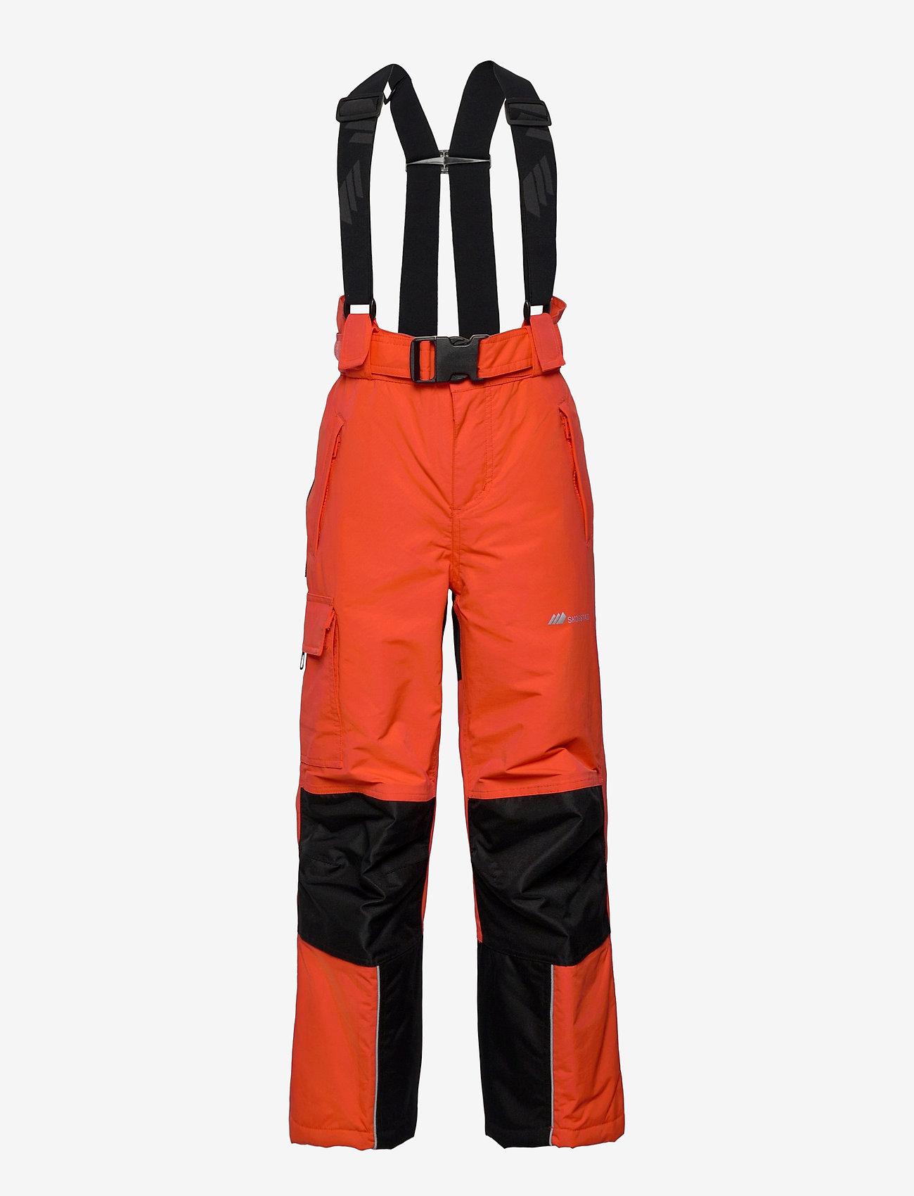 Skogstad - Panther Tord 2-layer technical trouser - overtræksbukser - cherry tomato - 0