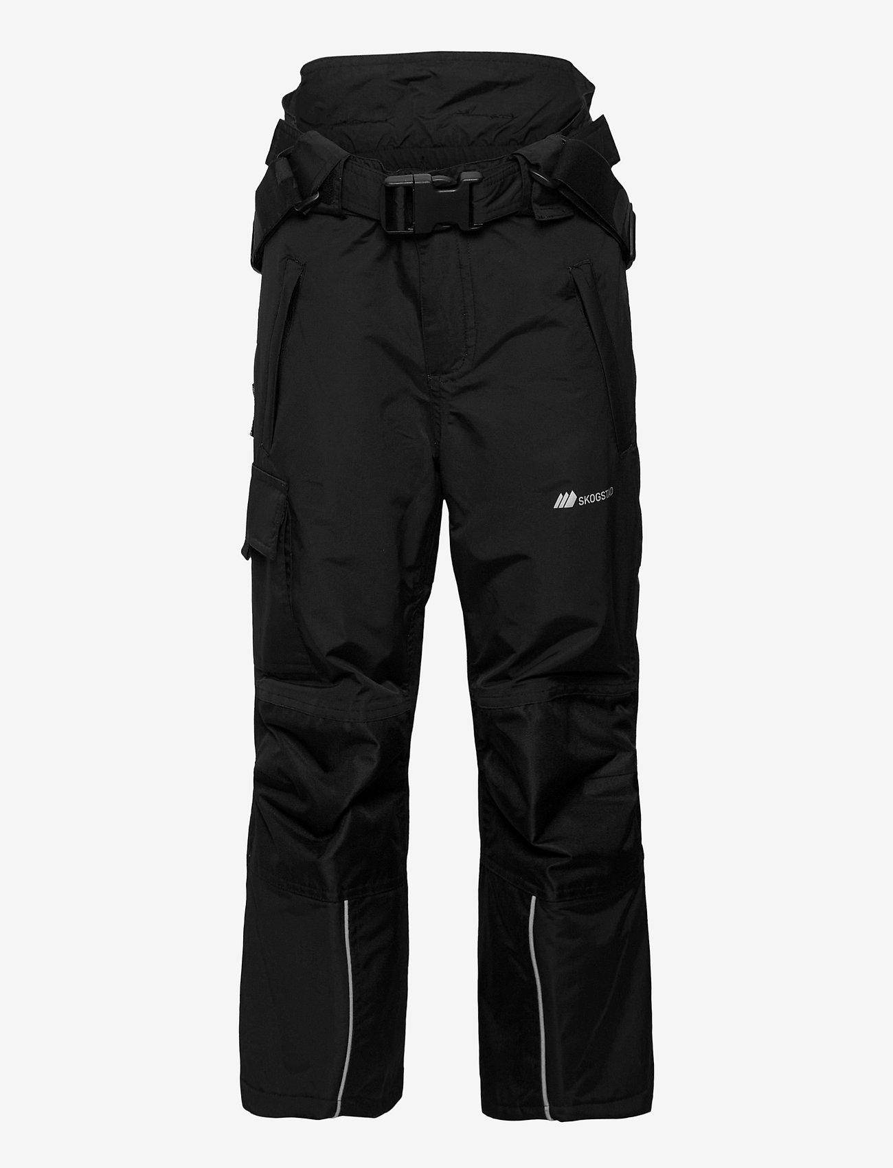 Skogstad - Panther Tord 2-layer technical trouser - overtræksbukser - black - 1