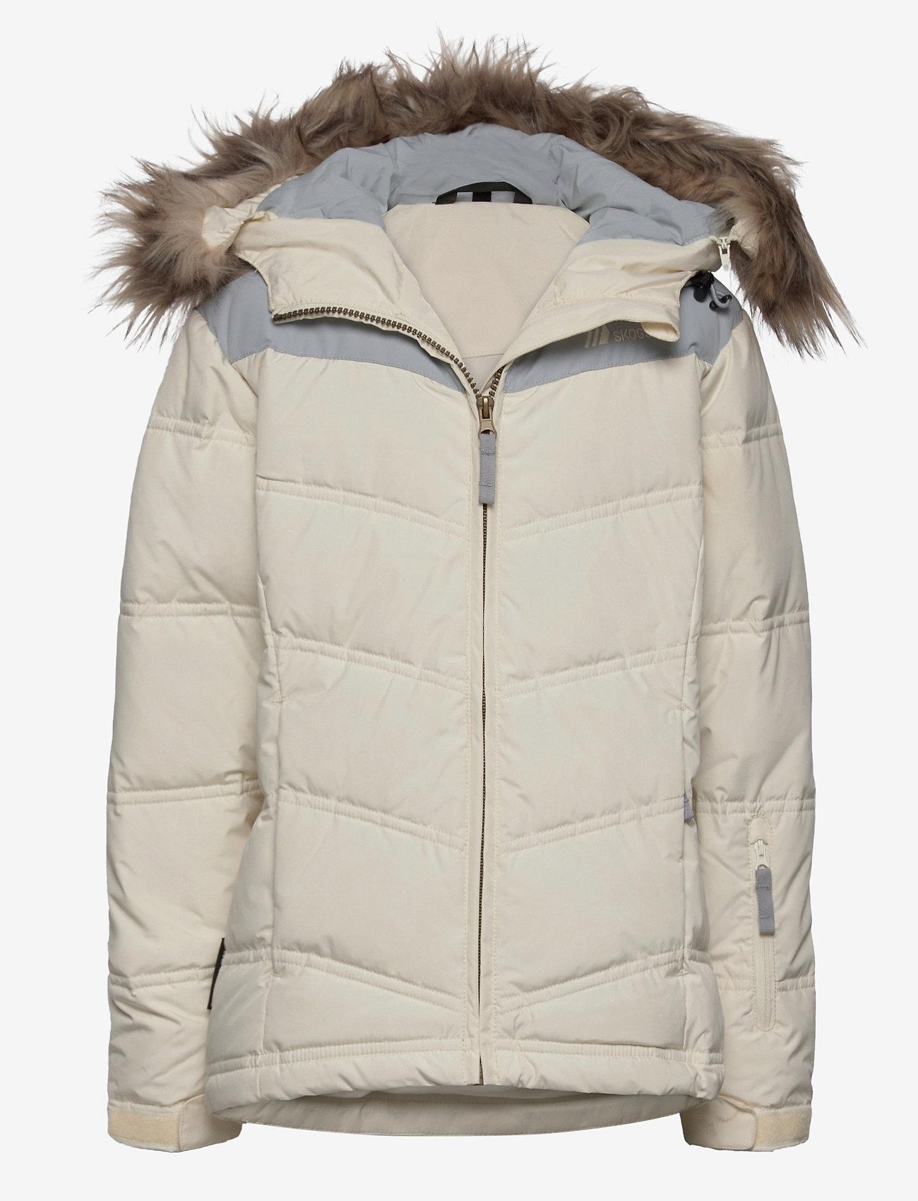 Skogstad - Roland down jacket - dunjakker & forede jakker - vanilla ice - 0