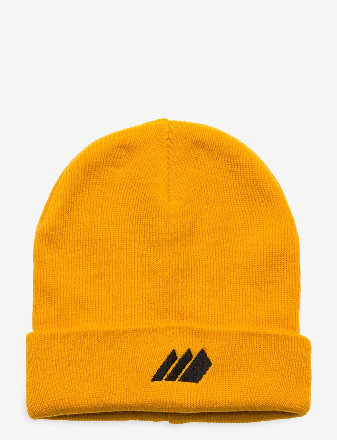 Skogstad - Andebu knitted hat - huer - saffron - 0