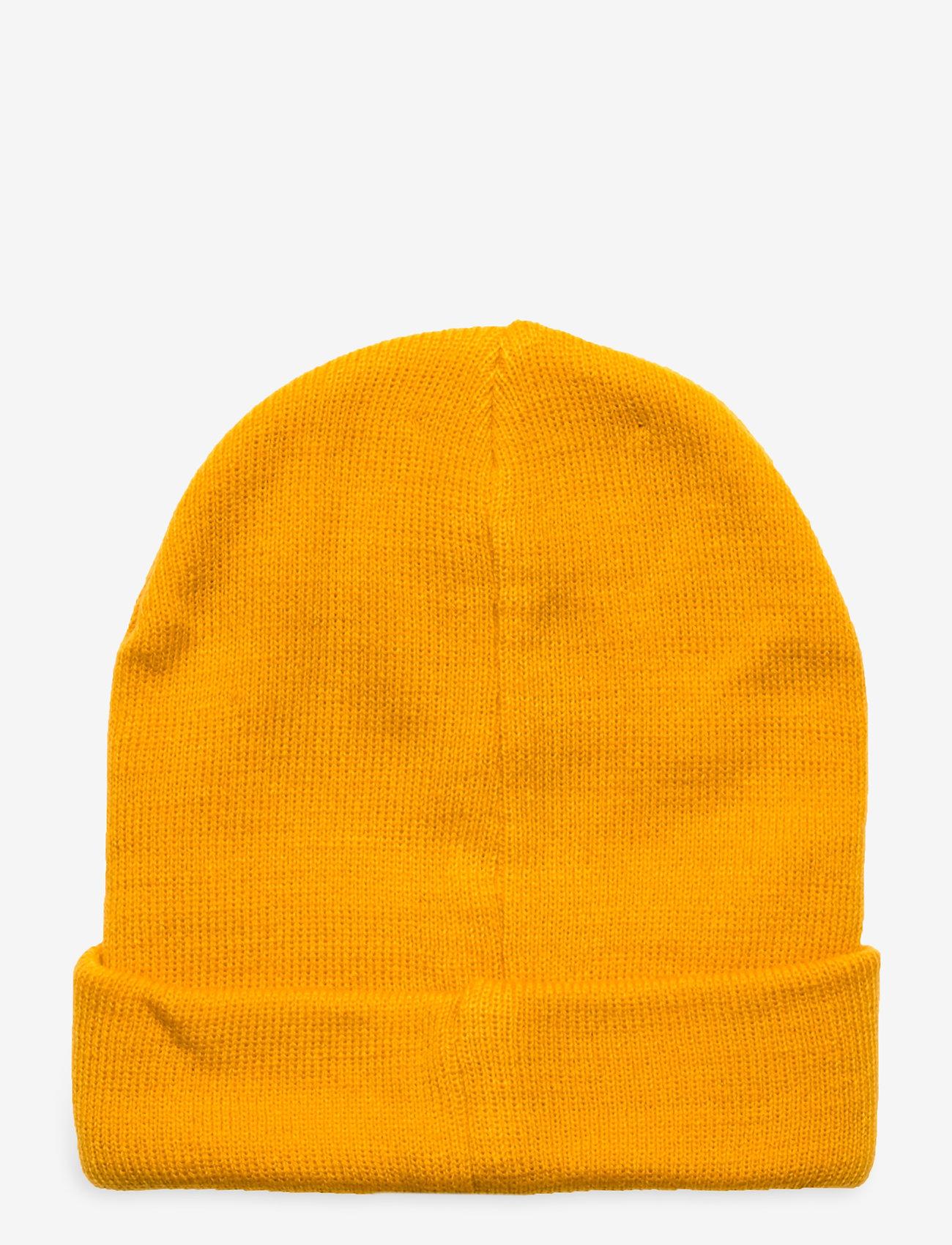 Skogstad - Andebu knitted hat - huer - saffron - 1