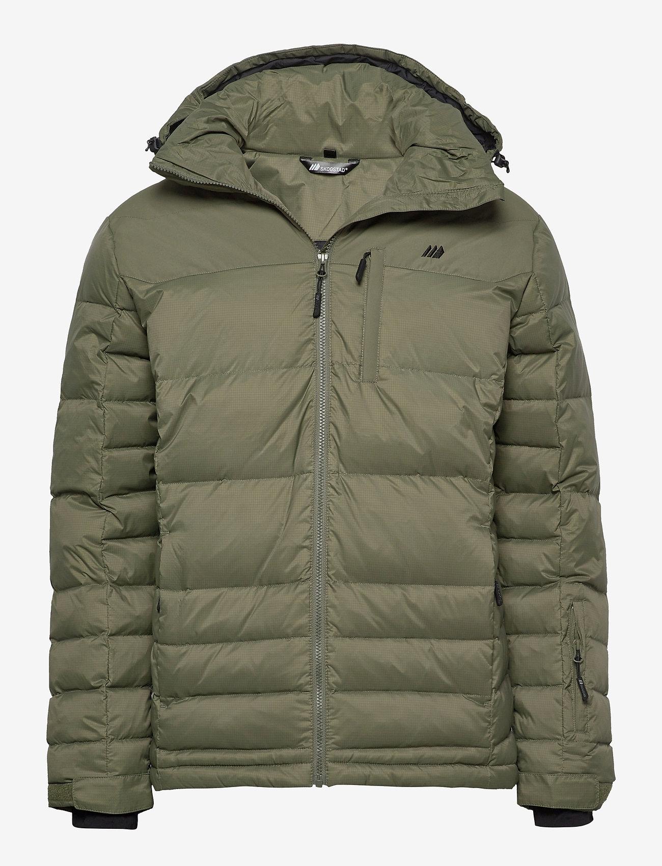 Skogstad - Selvågen down jacket - outdoor- & regenjacken - four leaf - 0