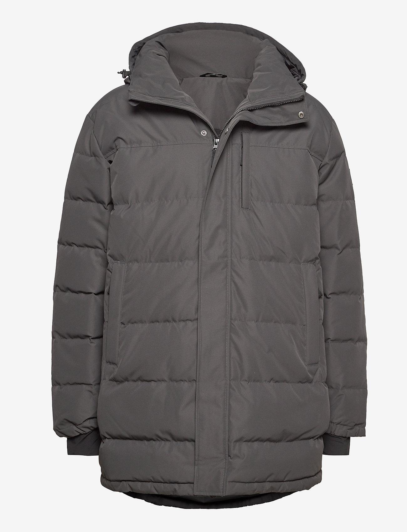 Skogstad - Nydalen long down jacket - trainingsjacken - new antracite - 0