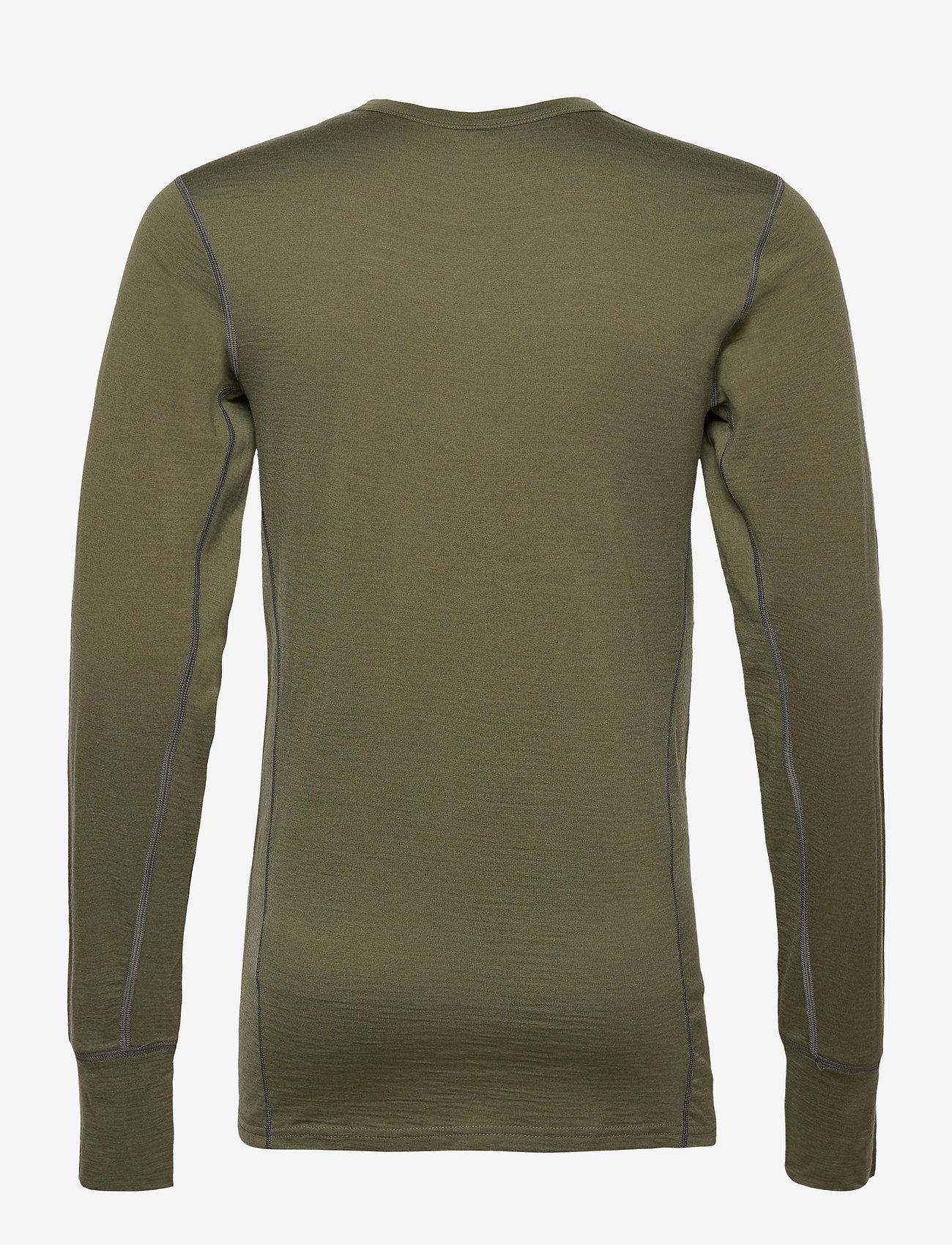 Skogstad - Leknes merino wool sweater - basic-strickmode - four leaf - 1