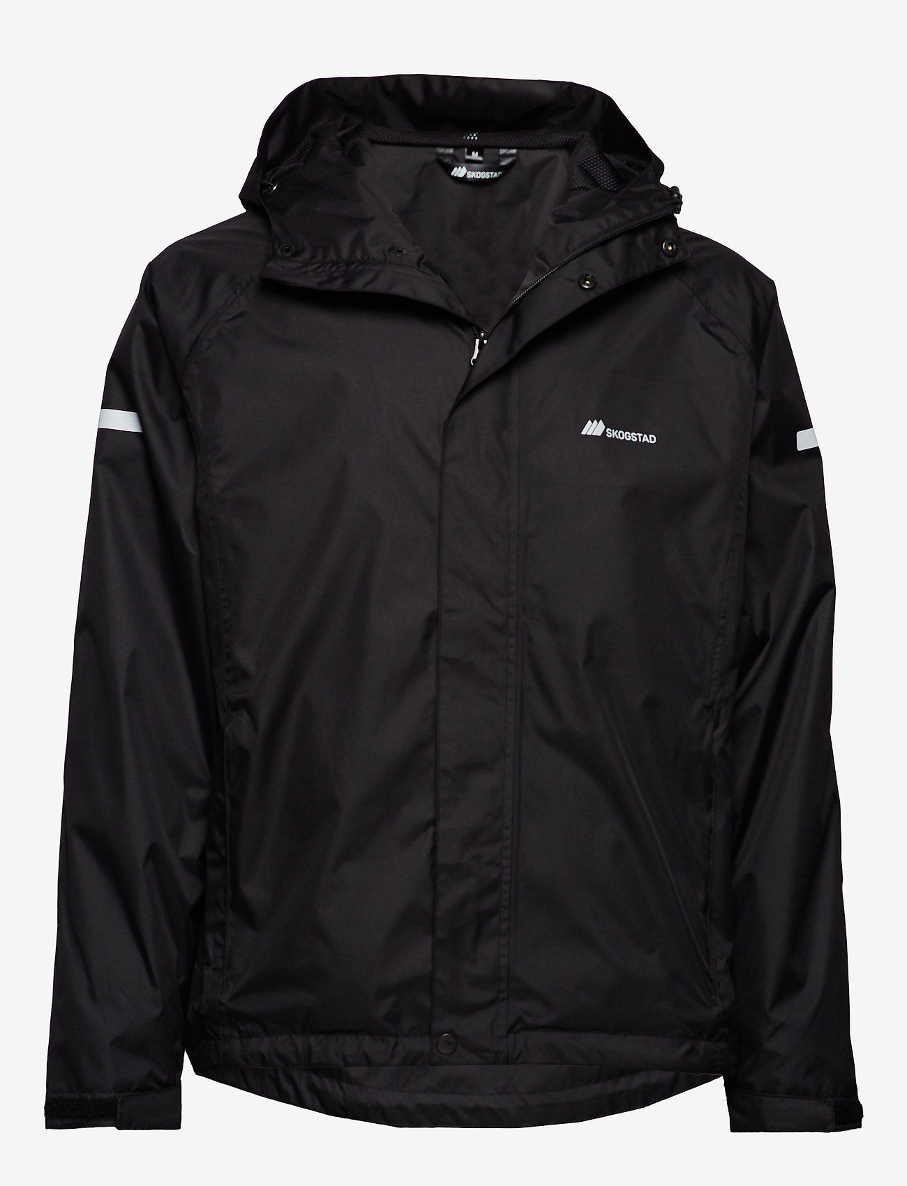 Skogstad - Føyno   2-layer Teachnical Rain Jacket - outdoor- & regenjacken - black - 0
