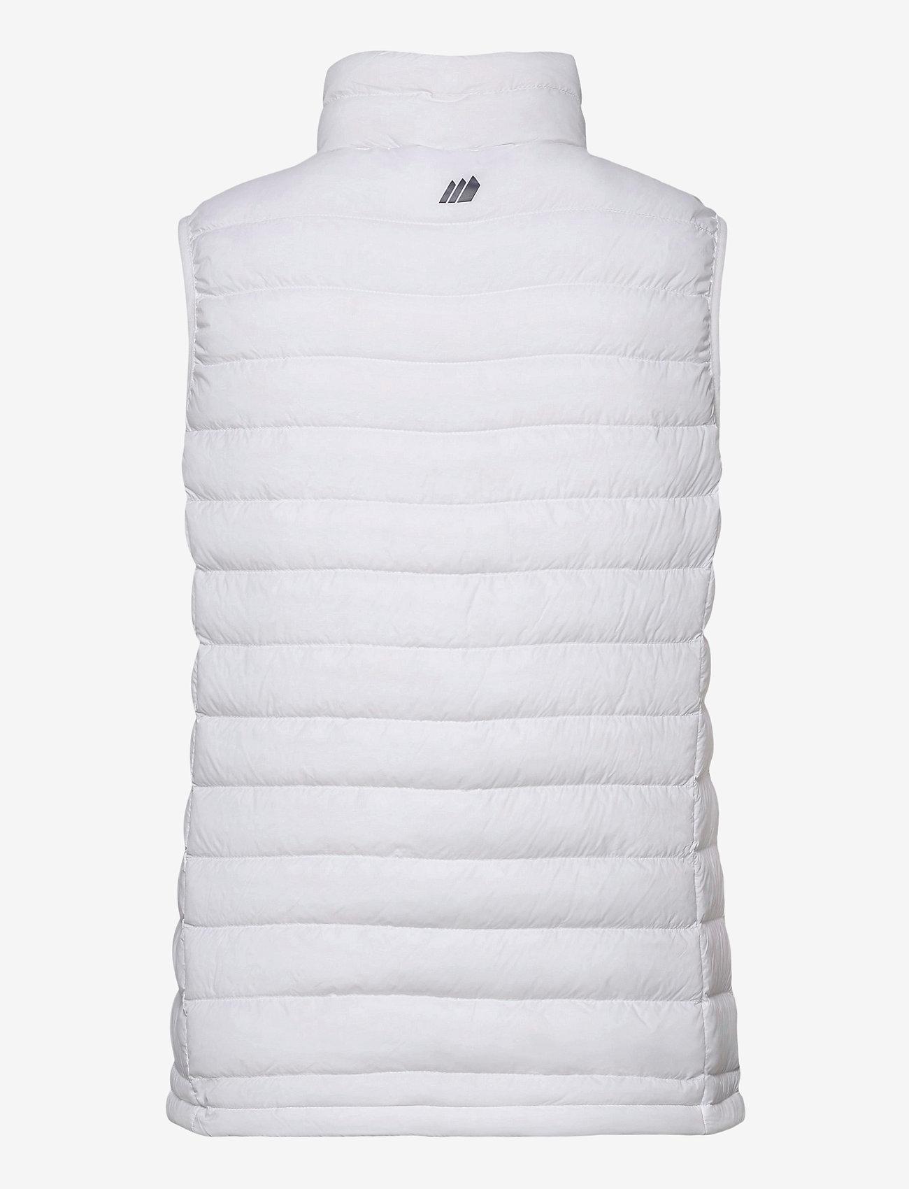 Skogstad - Dalen Vest - puffer vests - white - 1