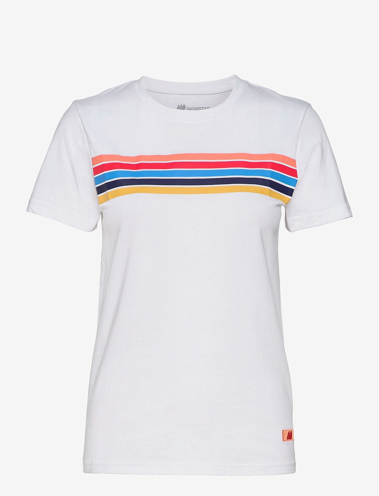 Skogstad - Stølsfjell Organic Cotton T-shirt - t-shirts - white - 0