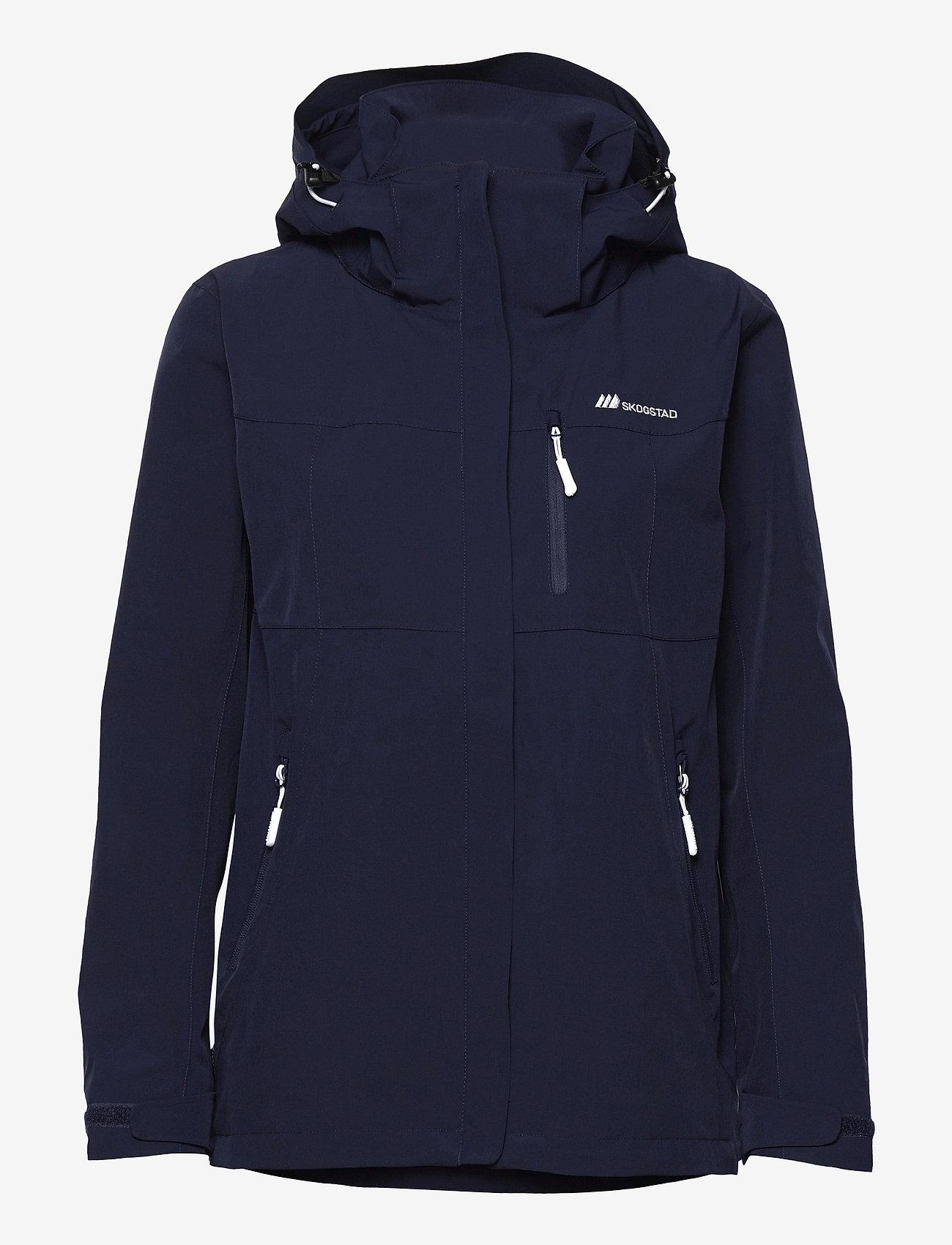 Skogstad - Stadt 2-layer technical jacket - wandel- en regenjassen - prime navy - 0