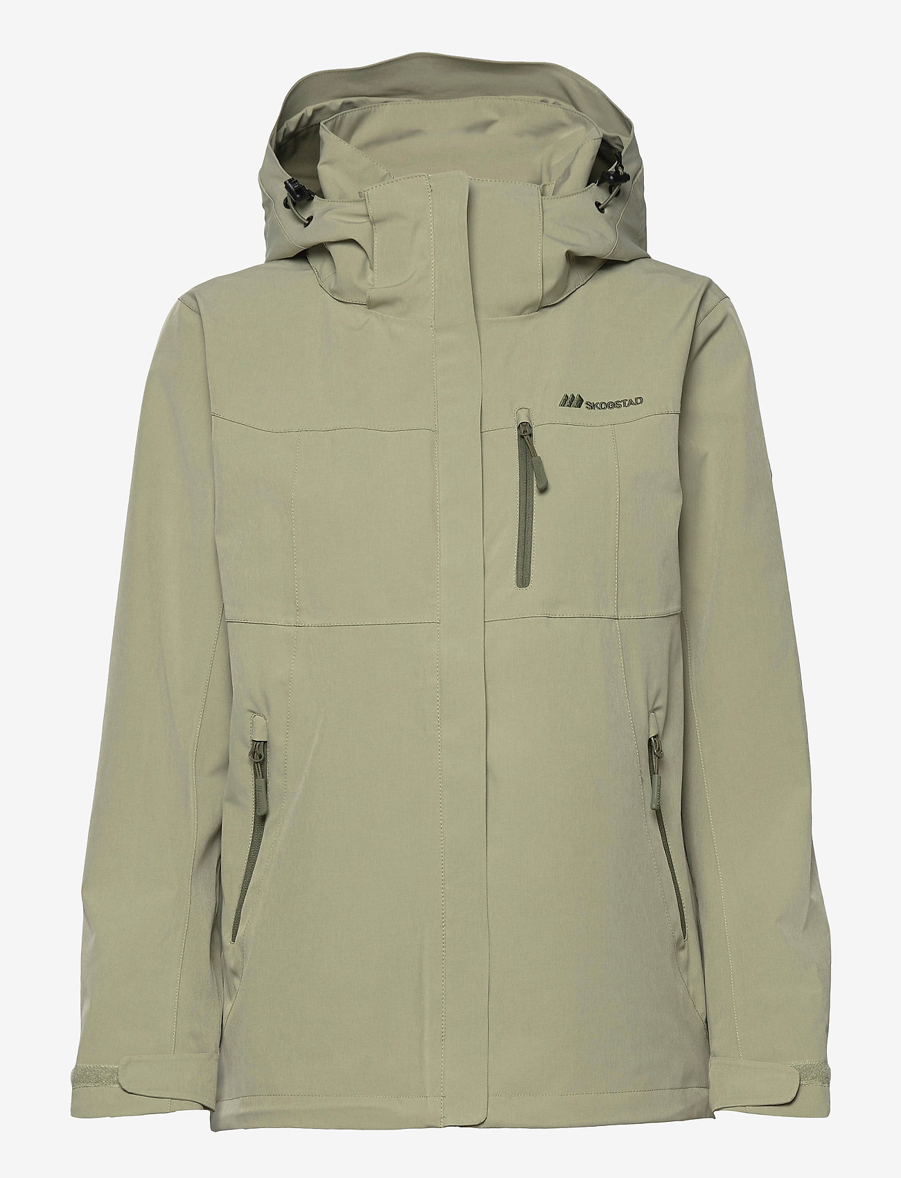 Skogstad - Stadt 2-layer technical jacket - wandel- en regenjassen - tea - 0