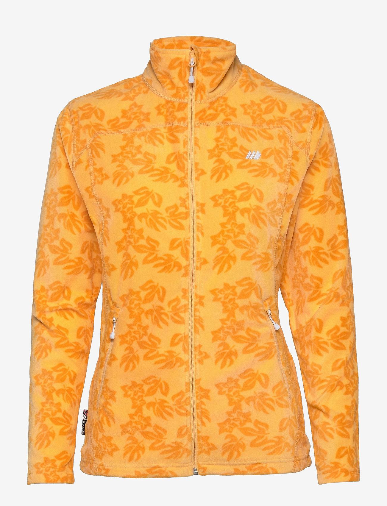 Skogstad - Tinnhølen Microfleece Jacket - wandel- en regenjassen - gold cream pr - 0