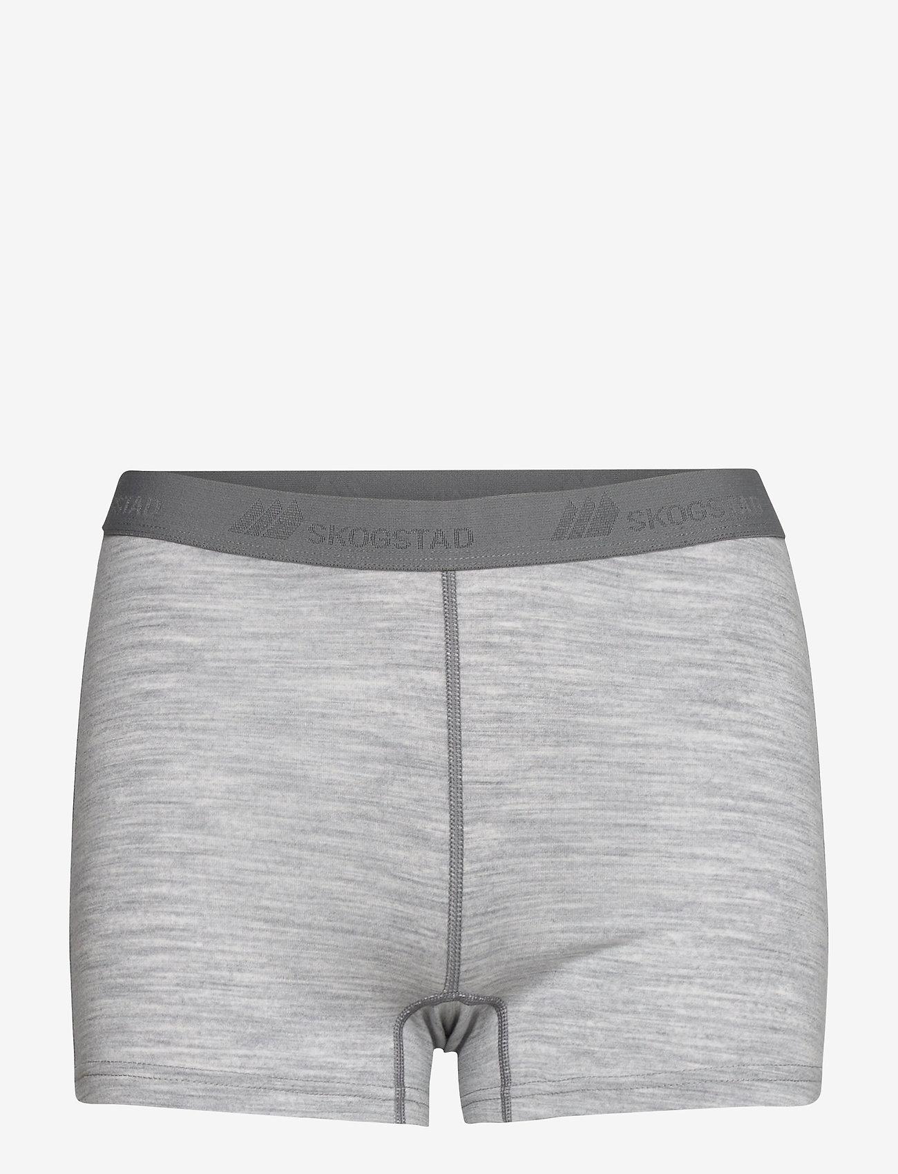 Skogstad - Mysen Merino Wool Hipster - slips - grey melange - 0