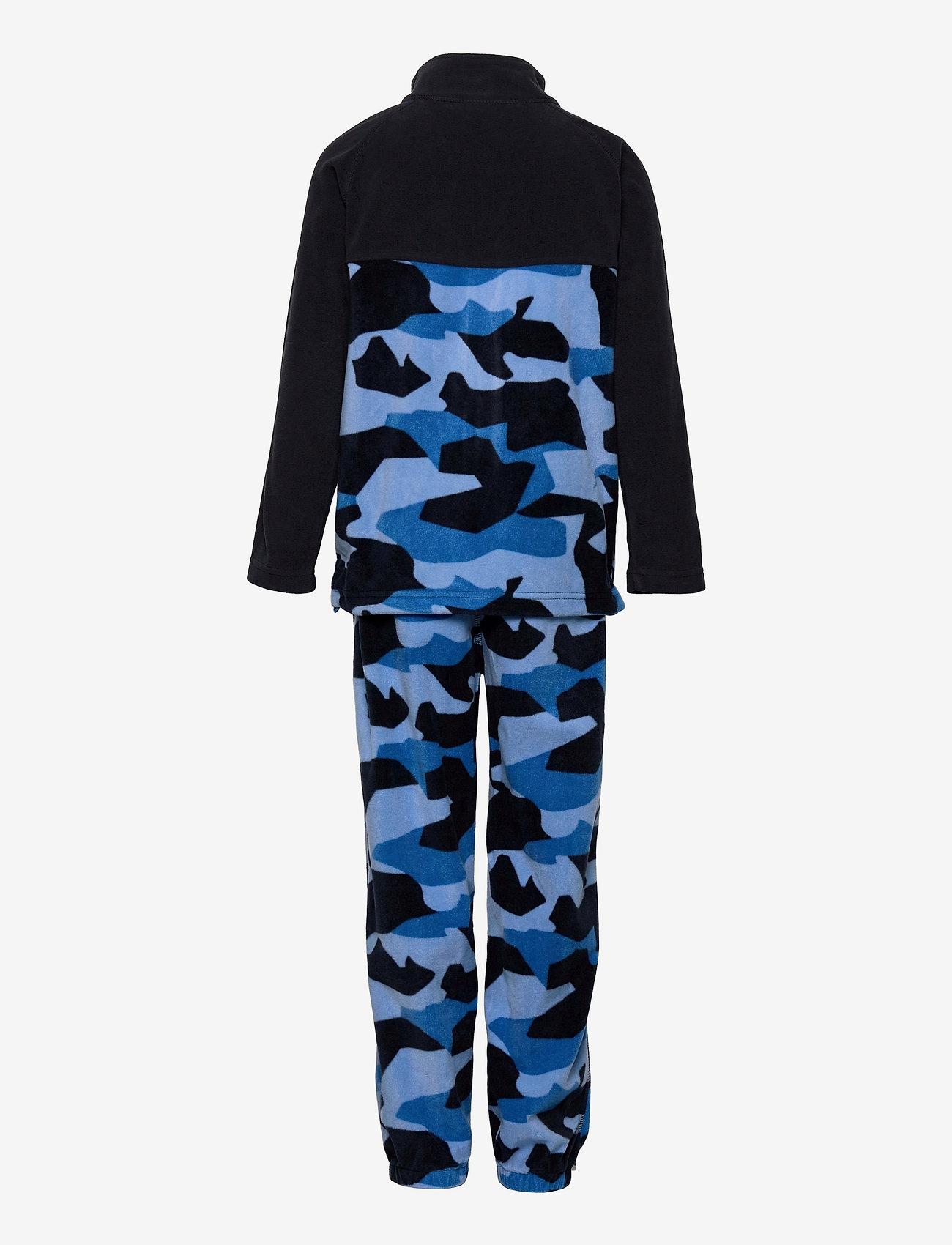 Skogstad - Trone microfleece set - fleece sets - french blue pr - 1