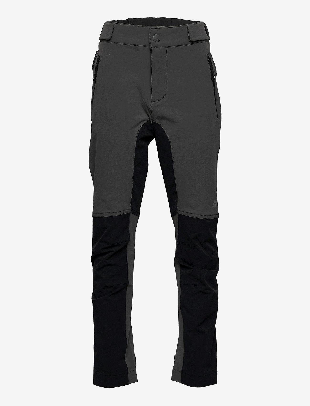 Skogstad - Tinden hiking trousers - softshell-broeken - dark grey - 0