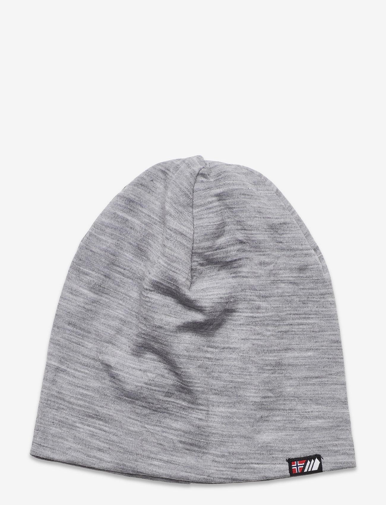 Skogstad - Aske merino wool hat - beanie - casio grey - 0