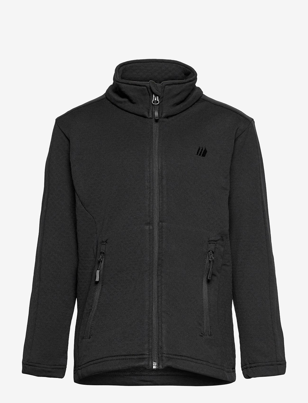 Skogstad - Ervadalen technical fleece jacket - geïsoleerde jassen - black - 0