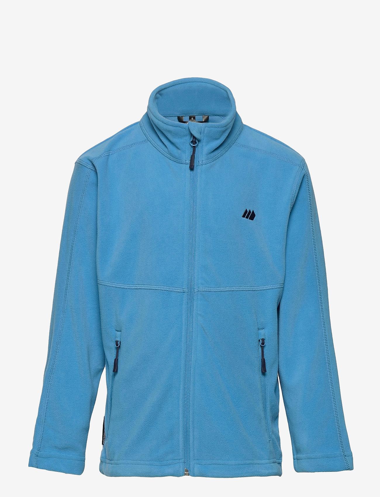 Skogstad - Troms Fleece Jacket - fleecetøj - malibu blue - 0