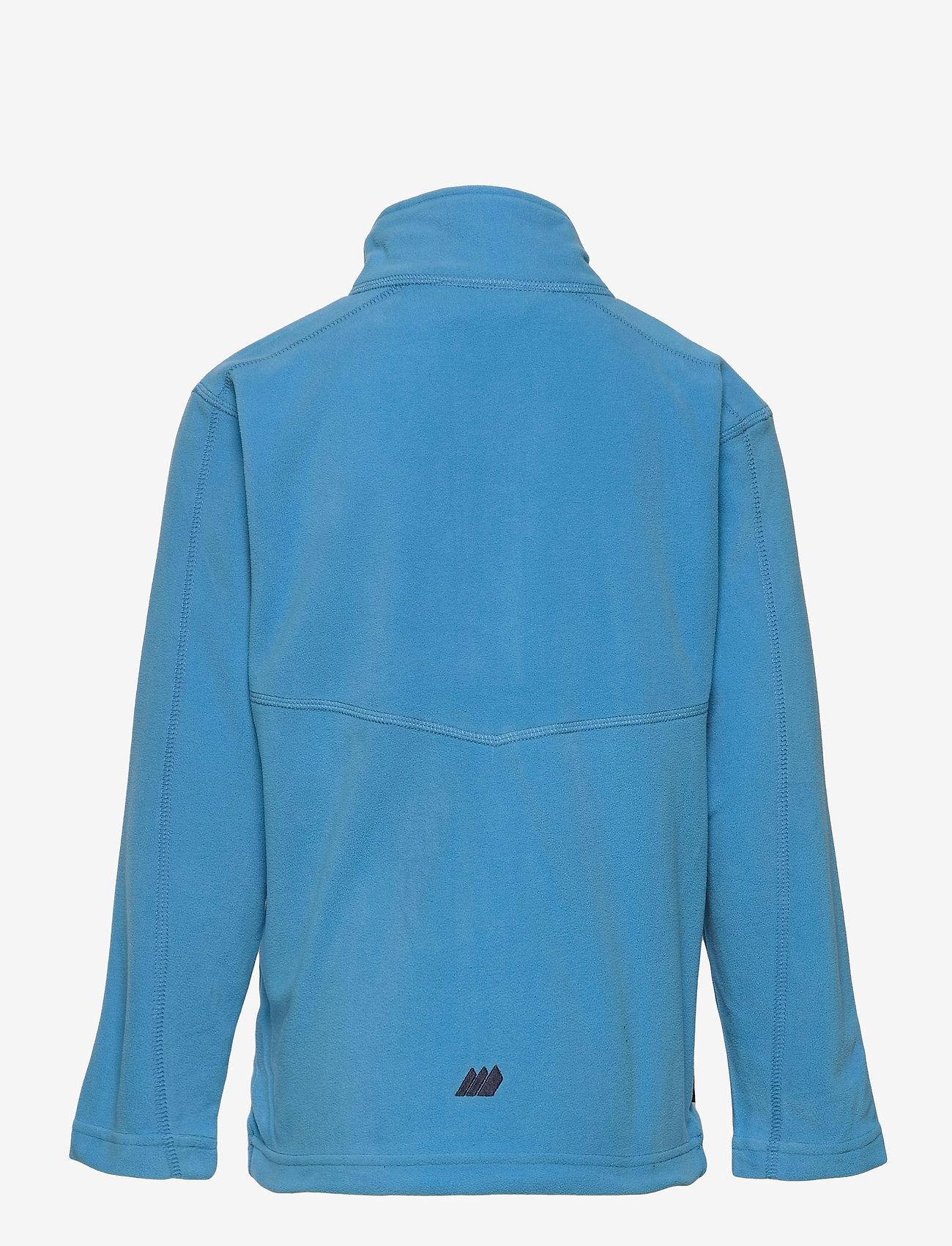 Skogstad - Troms Fleece Jacket - fleecetøj - malibu blue - 1