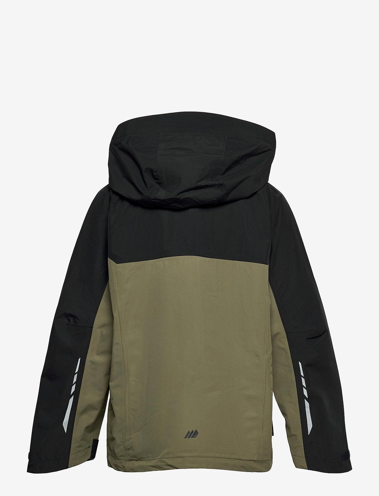 Skogstad - Skarfjellet 2,5-layer technical shell jacket - shell- & regenjassen - four leaf - 1