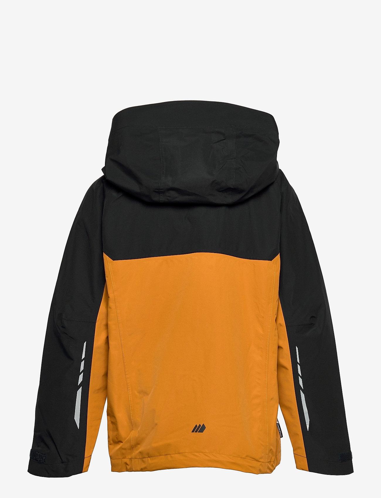 Skogstad - Skarfjellet 2,5-layer technical shell jacket - shell- & regenjassen - oker - 1