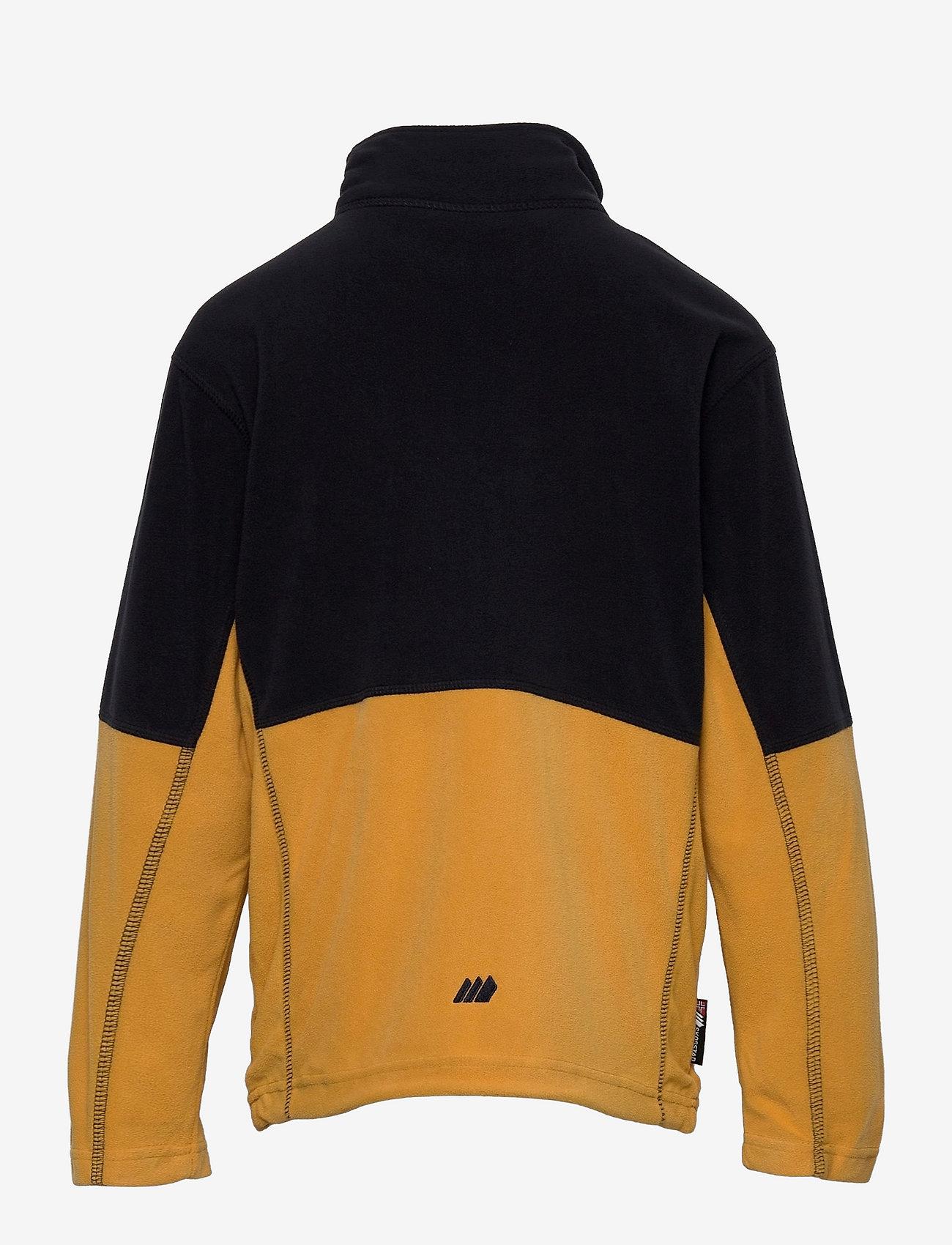 Skogstad - Troms microfleece jacket - geïsoleerde jassen - bright gold - 1