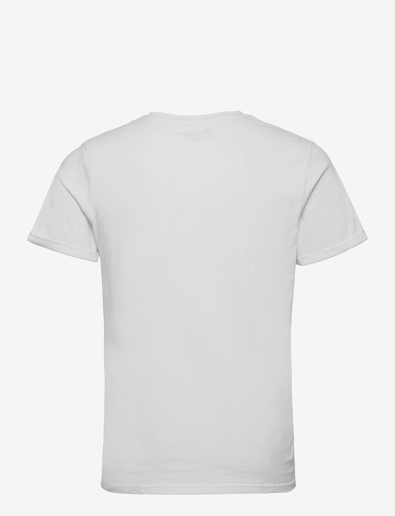 Skogstad - Tautra Organic Cotton T-shirt - sportoberteile - white - 1