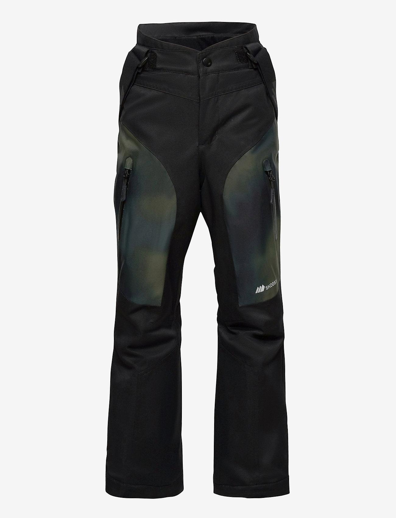 Skogstad - Gaustadblikk 2-layer technical ski trousers - overtræksbukser - black - 0