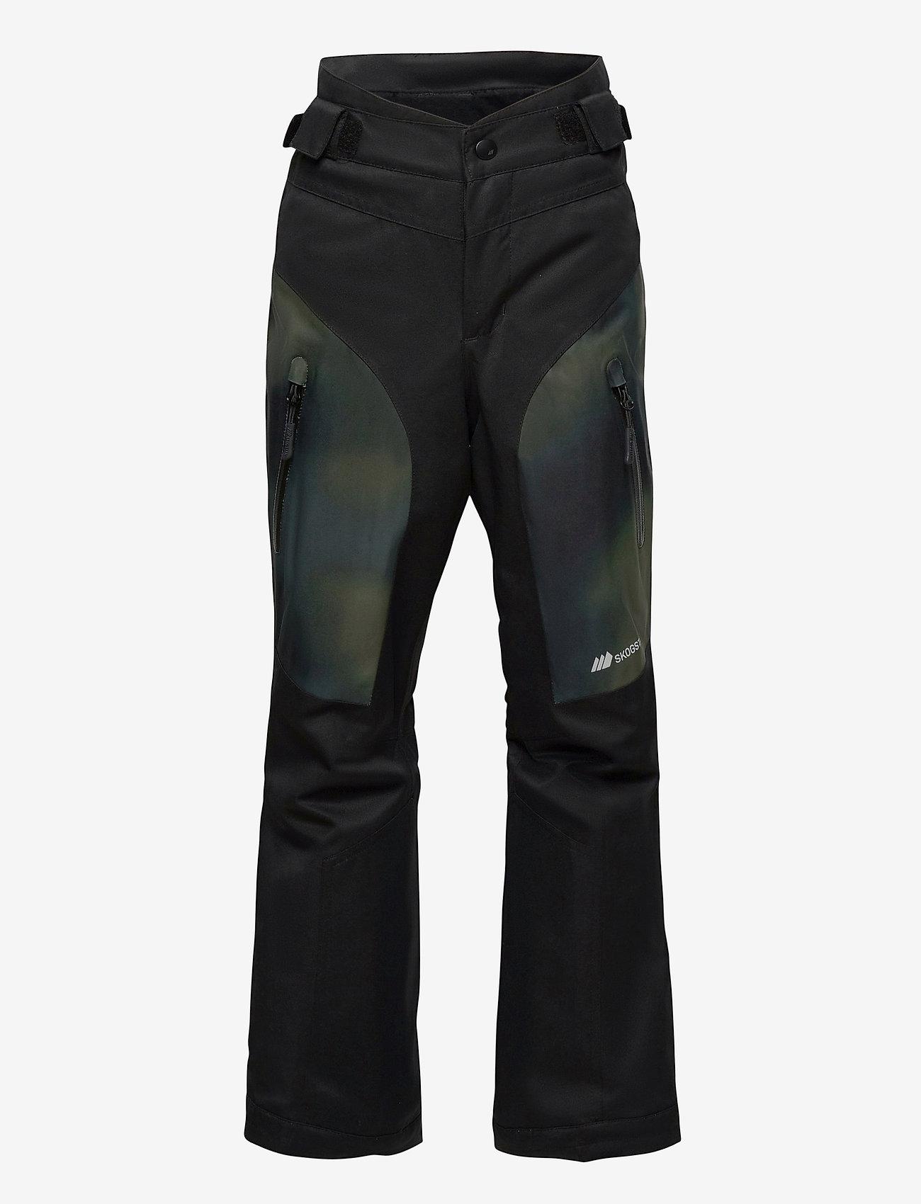 Skogstad - Gaustadblikk 2-layer technical ski trousers - overtræksbukser - black - 1