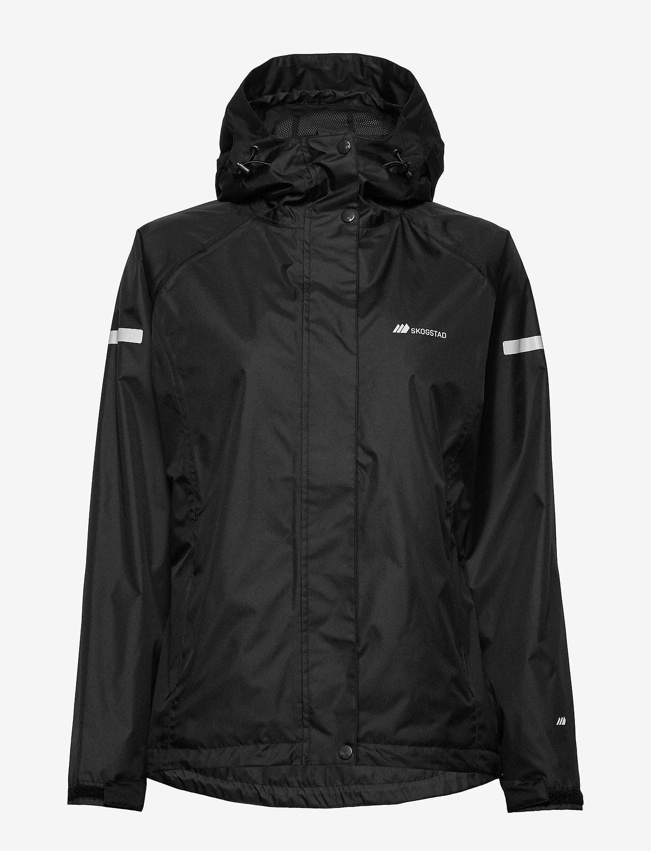 Skogstad - Hildra 2-layer technical rain jacket - wandel- en regenjassen - black - 1