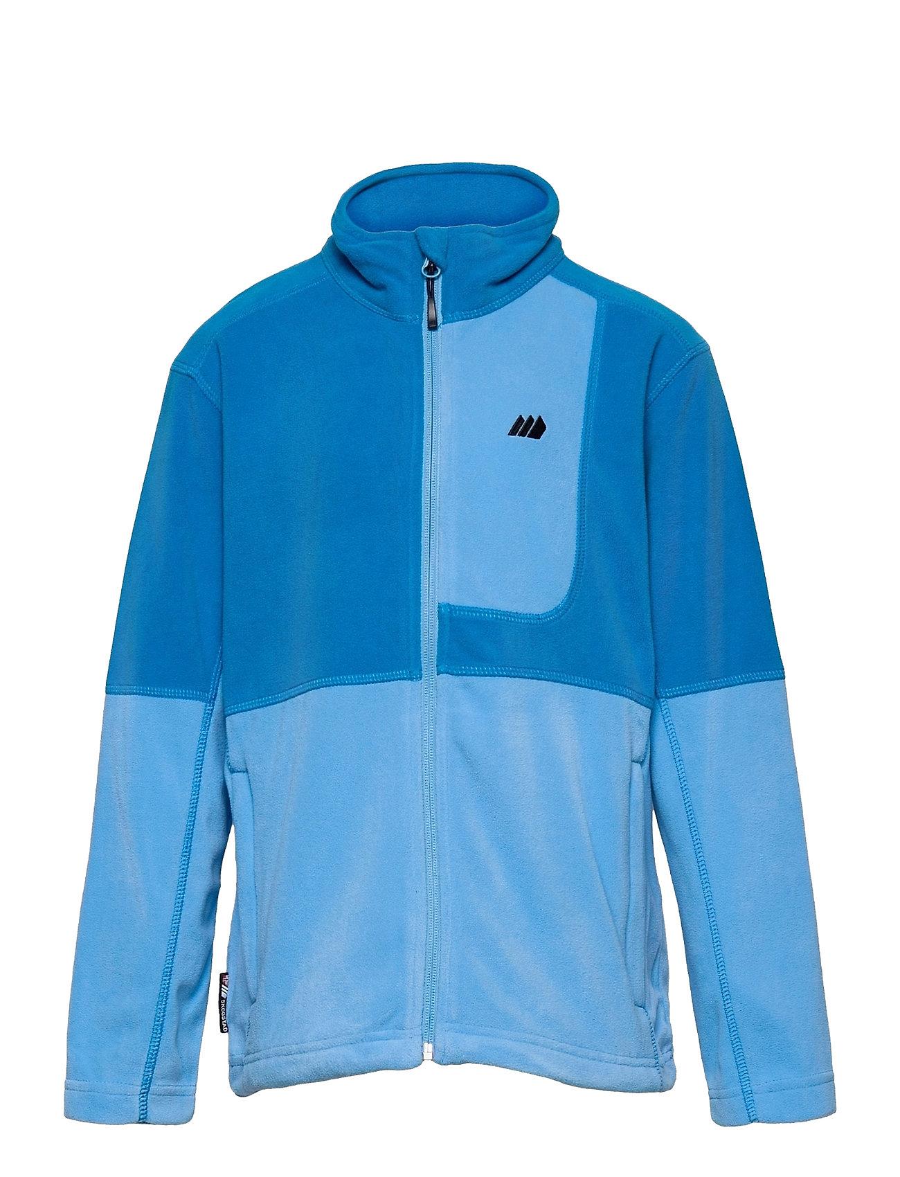 Troms Microfleece Jacket Outerwear Fleece Outerwear Fleece Jackets Blå Skogstad