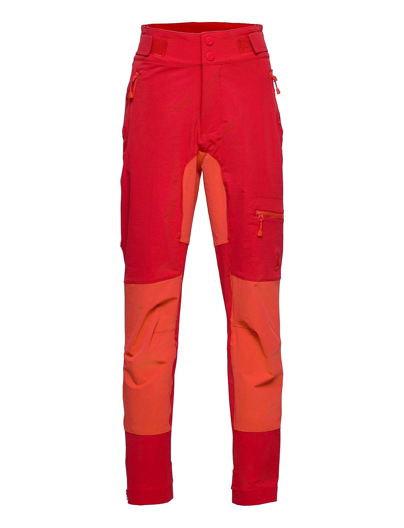 LøNahorgi Hiking Trousers Outerwear Softshells Softshell Trousers Rød Skogstad