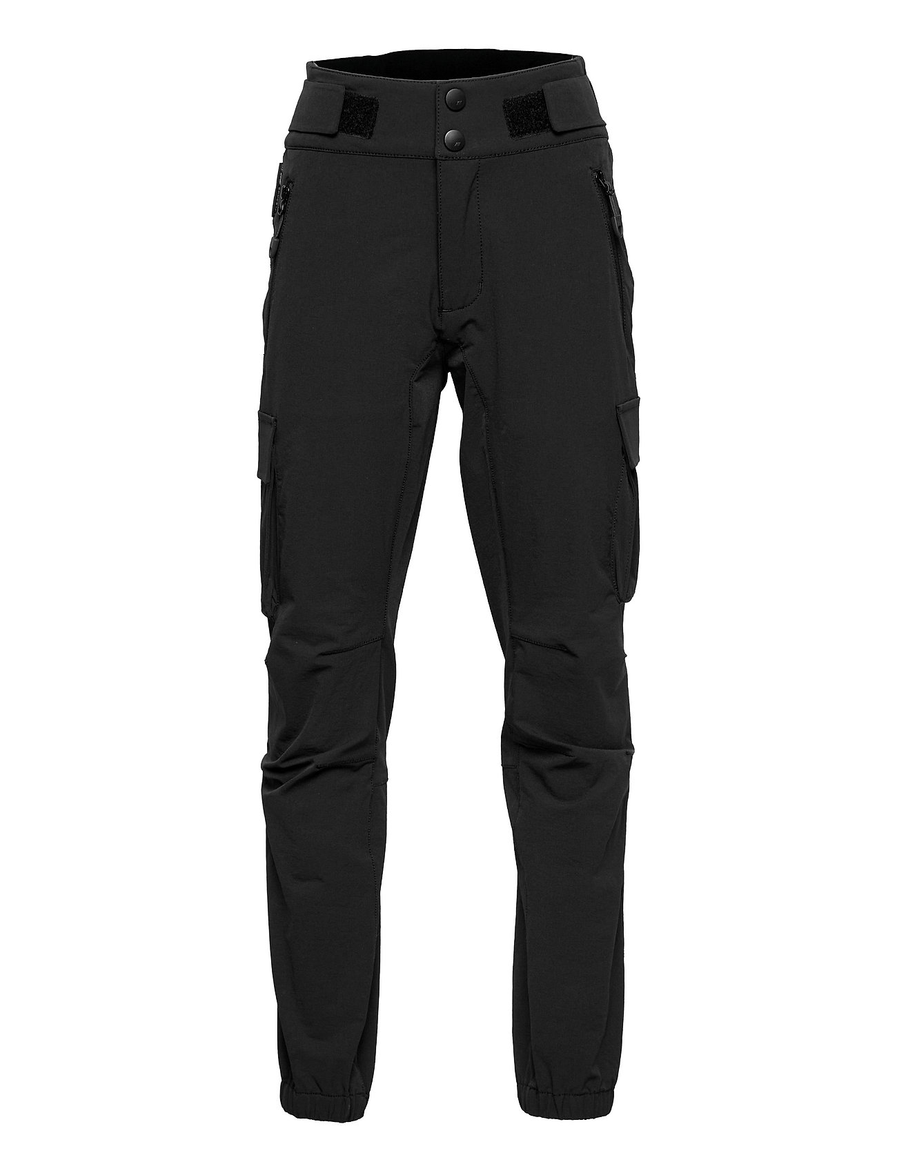 IstrehåGen Hiking Trousers Outerwear Softshells Softshell Trousers Sort Skogstad