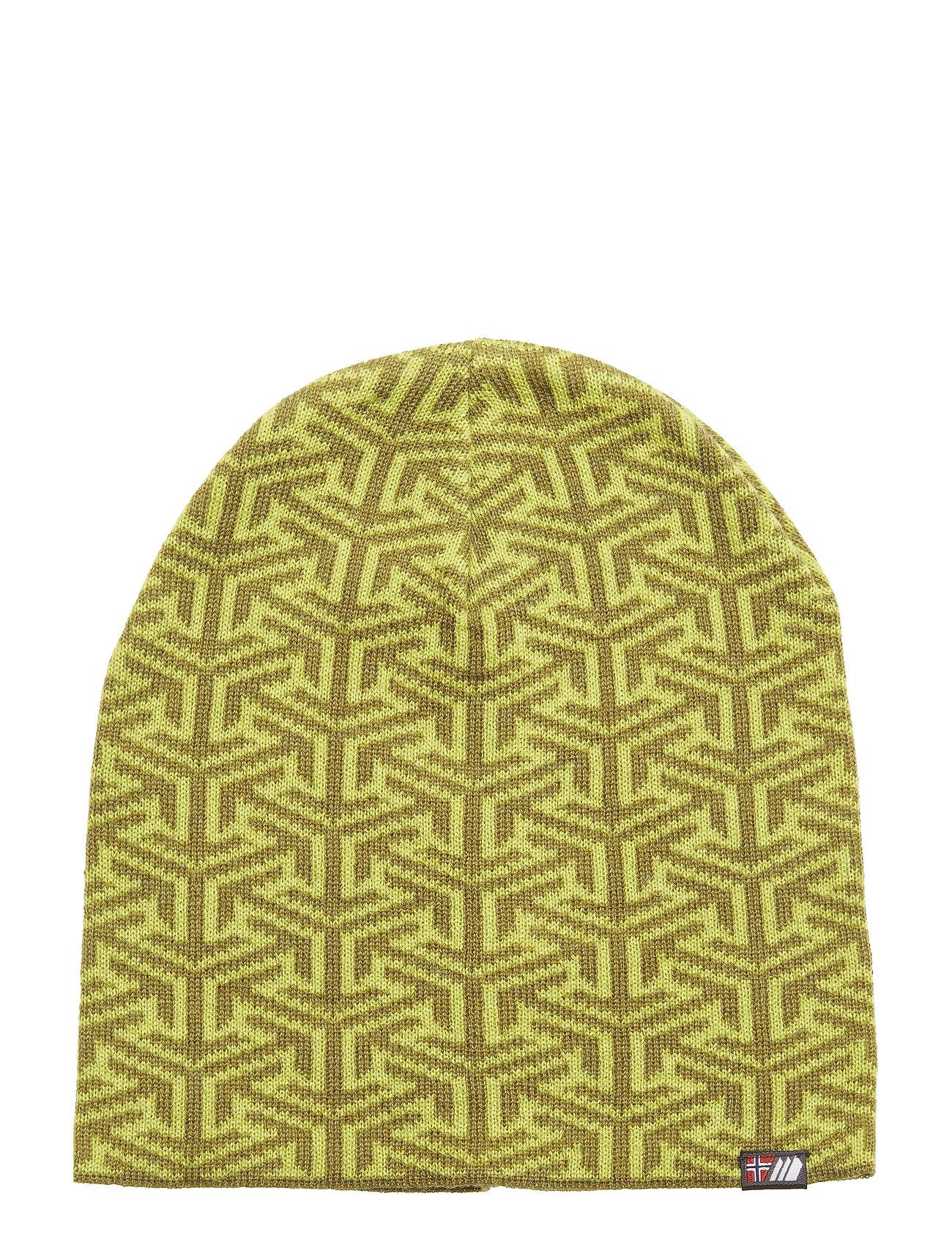 Skogstad Maradalen knitted hat - ACID LIME PR