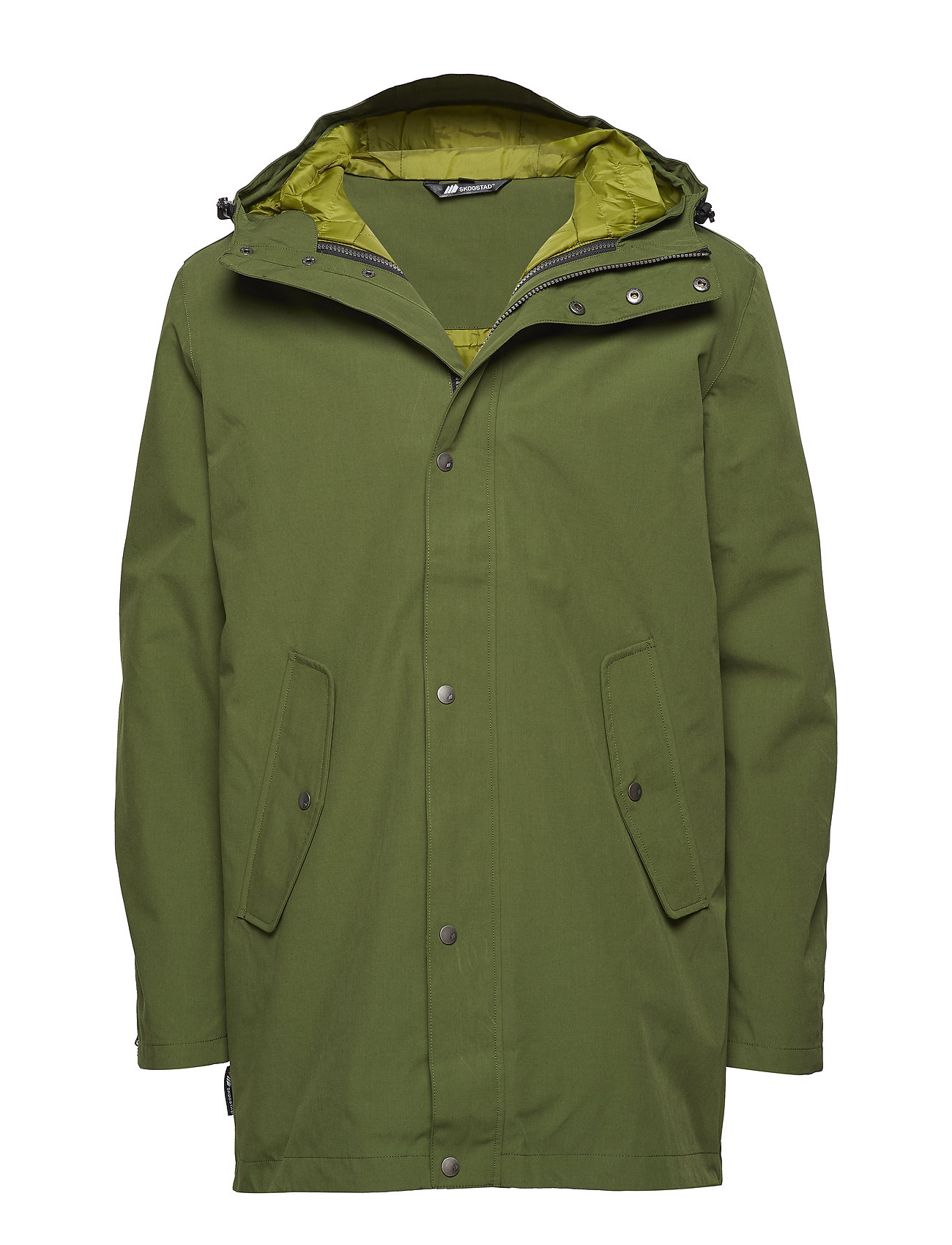 Skogstad Fyrde 2-layer technical parka - CHIVE