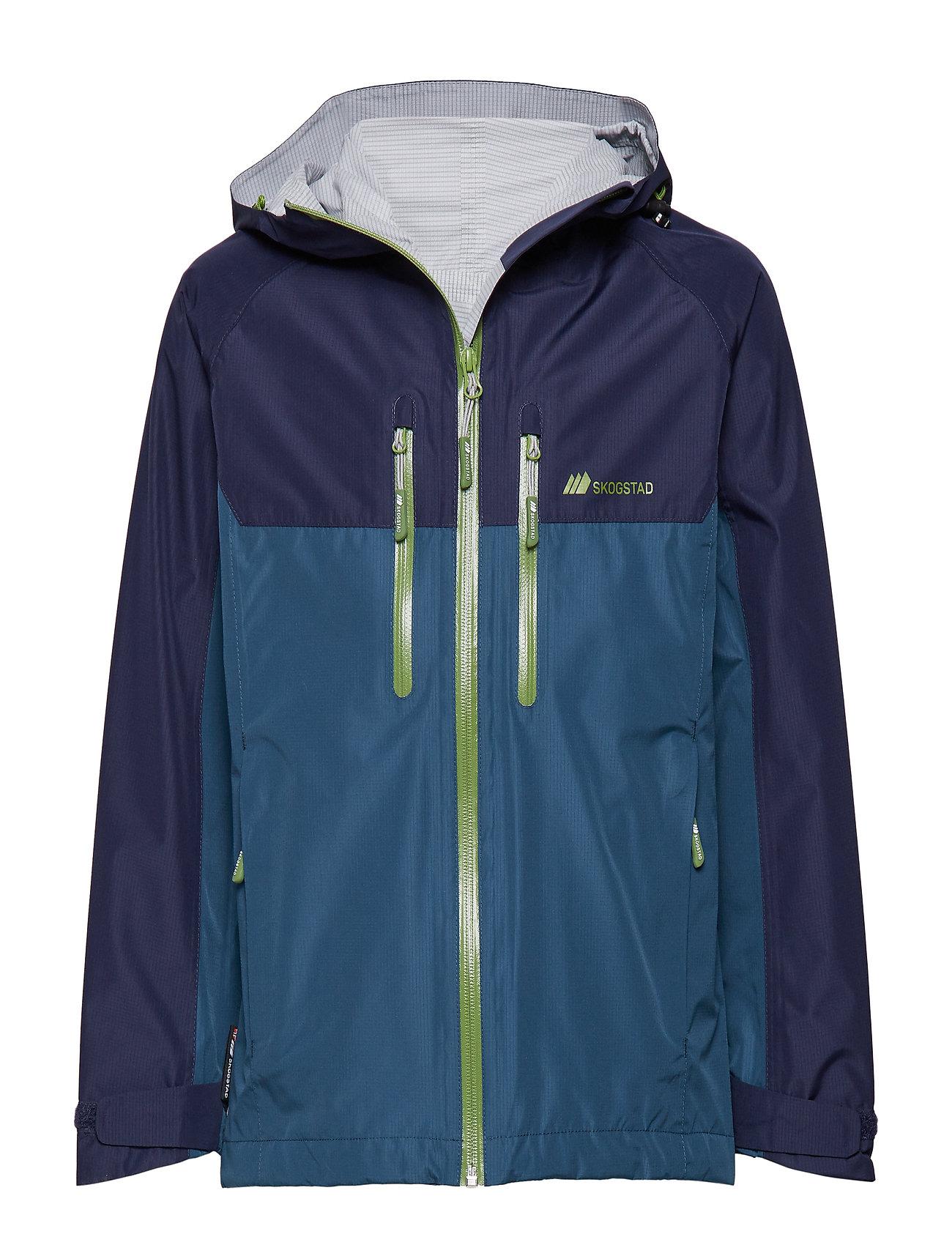 Skogstad Vadsø  2,5-Layer Technical Shell Jacket - BLUE TEAL