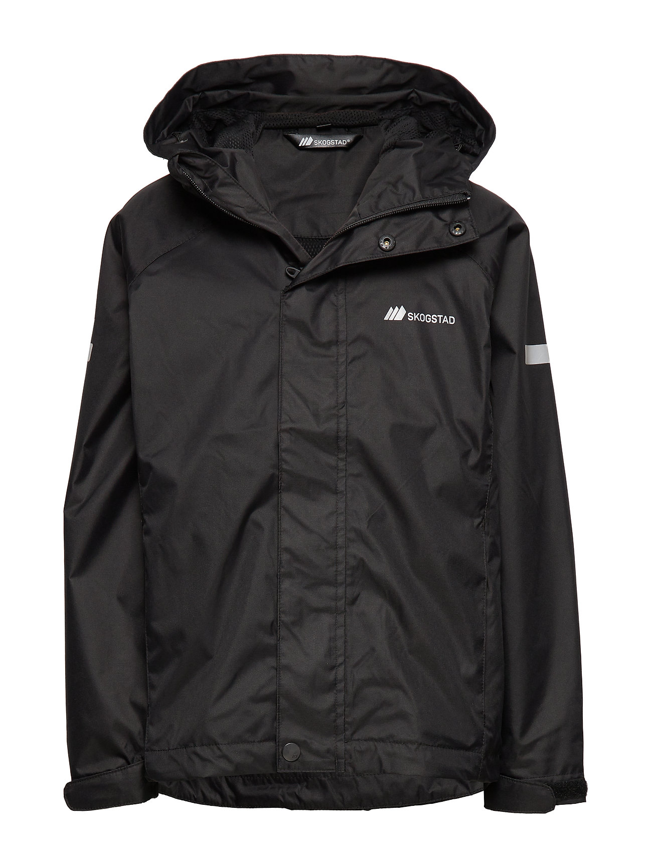 Skogstad Risøy 2-Layer Technical Rain Jacket - BLACK