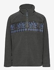 Skogstad - Bondalen Microfleece half-zip - fleecetøj - dark grey - 0