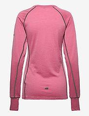 Skogstad - Nordstølen merino wool sweater - thermo ondershirts - heather rose - 1