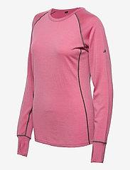 Skogstad - Nordstølen merino wool sweater - thermo ondershirts - heather rose - 2