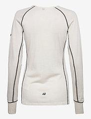 Skogstad - Nordstølen merino wool sweater - thermo ondershirts - vanilla ice - 1