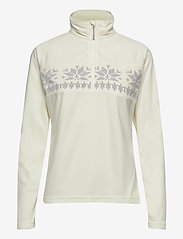 Skogstad - Hildastranda microfleece half-zip - mid layer jackets - vanilla ice - 0