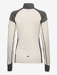 Skogstad - Jardalen merino wool half-zip - thermo ondershirts - vanilla ice - 1