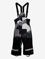 Skogstad - Rime 2-layer technical trouser - overtræksbukser - black camo pr - 0