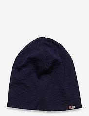 Skogstad - Aske merino wool hat - huer - prime navy - 0