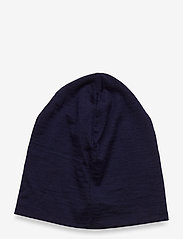 Skogstad - Aske merino wool hat - huer - prime navy - 1
