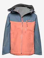 Skogstad - Lesja  2,5-Layer Technical Shell Jacket - kurtka typu shell - orange mist - 0