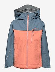 Skogstad - Lesja  2,5-Layer Technical Shell Jacket - kurtka typu shell - orange mist - 1