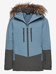Skogstad - Bakketuva 2-layer technical jacket - vinterjakker - blue dust - 0