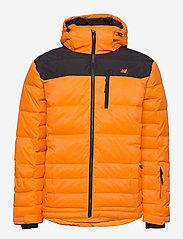 Skogstad - Selvågen down jacket - outdoor- & regenjacken - jaffa orange - 1